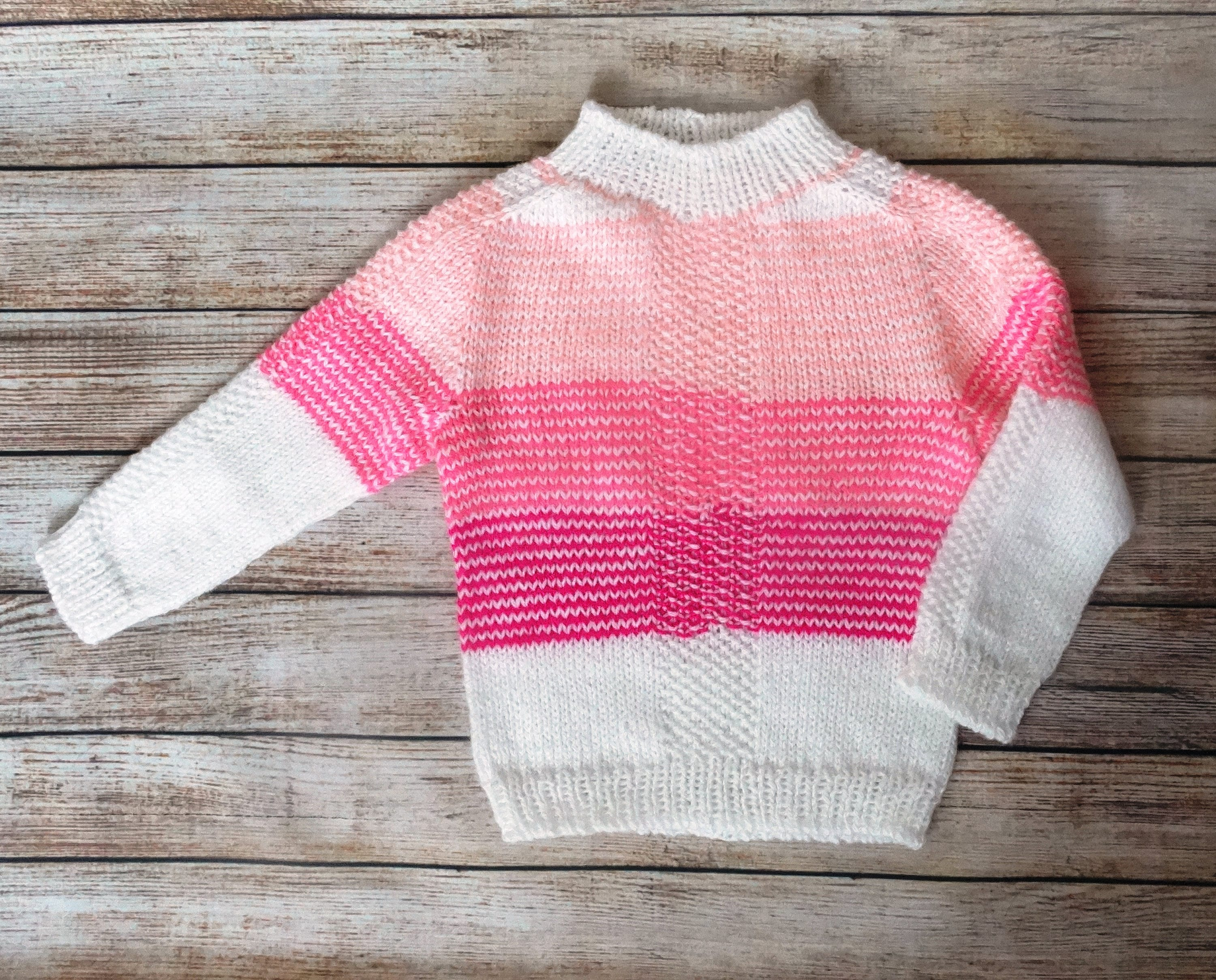 Child knitted stripes sweater Cute baby clothes 2 3 years baby