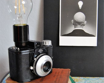 Photo camera lamp