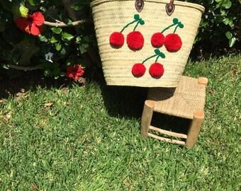 cherry French basket