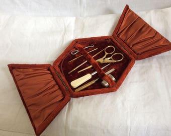 A 19thC Sewing Set