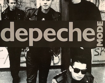 Wall Art, Band Poster, Depeche Mode Full Band Shot 23 1/2 x 33 UK import poster