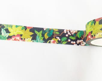 Night Garden Washi Tape, Flower tape