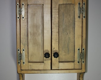 Cabinet FREE SHIPPING, Wall, Medicine, Curio, Shabby, Cottage, Chic,