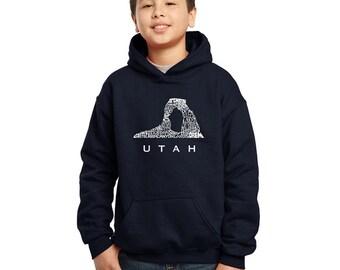 Boy's Hooded Sweatshirt -UTAH