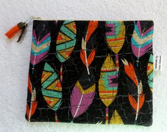 SOLD OUT - Zippered pouch, make up bag