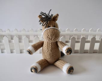 Henry the Horse toy knitting patterns