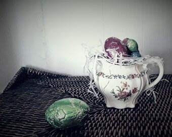 Vintage China Jug/ Ridgeways / Floral Jug/ High Tea / Shabby Chic / Antique / English China / Porcelain