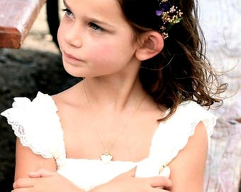 custom colors dried flower crown autumn little girl hair wreath lavender fall weddings child baby halo wedding accessories bridal party