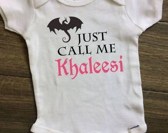 Khaleesi Onesie, Baby Khaleesi, Khaleesi Princess, Game of Thrones Baby, Mother of Dragons Baby, Game of Thrones Onesie, Daenerys Targaryen