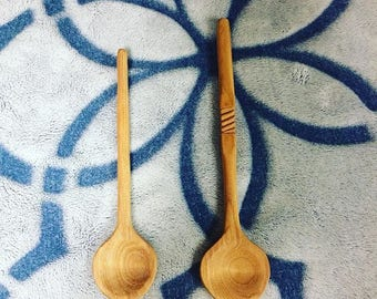 special gifts set of oak spoons