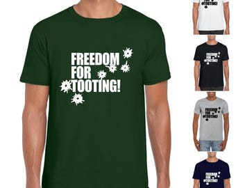 Freedom For Tooting - Mens/Adults Tshirt - Novelty/Funny/Fancy Dress/Wolfie/Citizen Smith/Retro