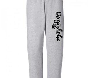 Dogaholic Dog Lover Funny Sweatpants Lounge Pajama Comfortable Comfy Unisex Mens Womens Clothes Jenuine Crafts