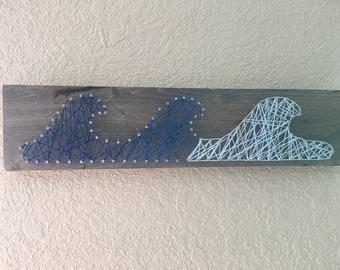 Waves String Art