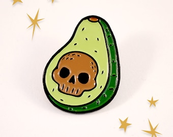 AH! Vocado Lapel Pin