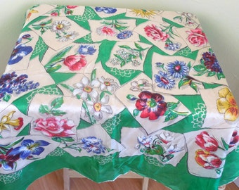 Vintage Silk Headscarf is Perfect