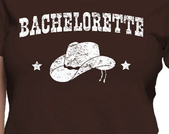Bachelorette Cowgirl Hat T-Shirt
