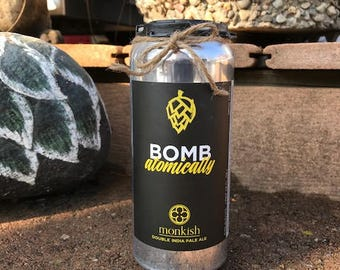 CANdles Craft Beer Cans - Bomb Atomically - Monkish