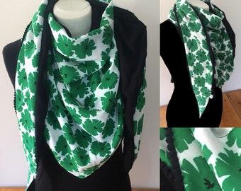 Scarf woman scarf woman cotton flowers