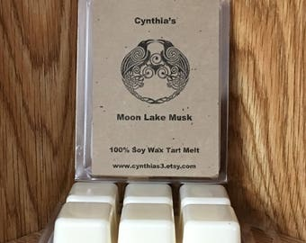 Moon Lake Musk Soy Wax Tart 6-Pack Clamshell - Extra Strength
