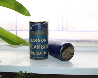 Antique Edison Cylinder Record 2811 There's A Little Lane Without a Turning