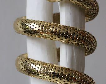 Whiting and Davis Serpent Bracelet