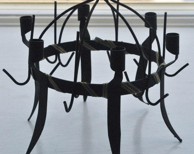 Swedish Toarps Crown Candle Holder Toarps Kronan Folk Art Allmoge