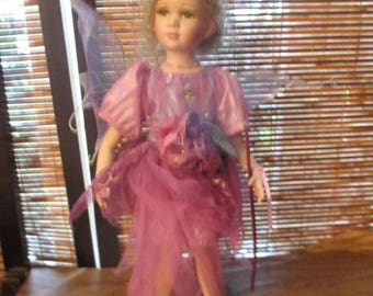 Collectors Porcelain Fairy Doll