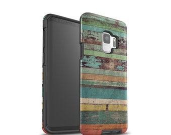 Galaxy Case, Samsung Galaxy S8 Case, Galaxy S9 Case, Galaxy S8 Plus, Galaxy S9 Plus, Wood Pattern, Rustic Wood, Galaxy S7 Case, Shockproof