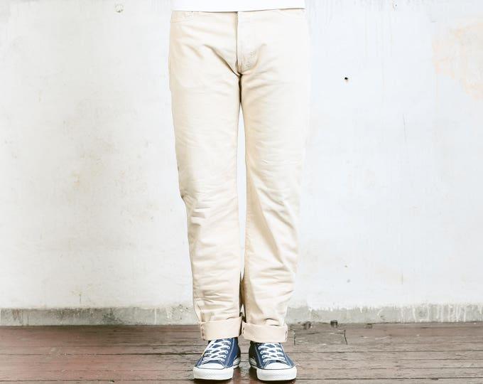 Vintage Levis 551 Pants . 90s Men Trousers Mens Dockers Levi's Trousers 90s Oldschool Pants 90s Nerd Trousers Dad Pants . size W33 L34