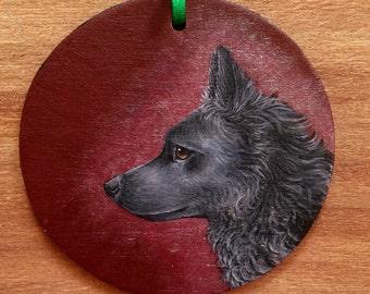 Mudi Christmas Ornament Holiday Dog Gift Dog Ornament