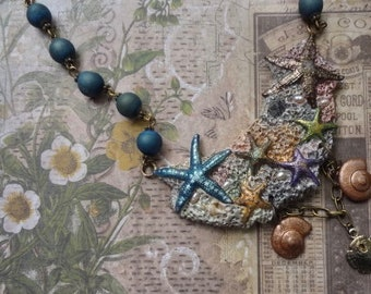 Starfish Necklace—Colorful and One of a Kind