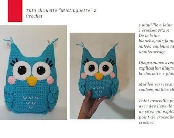 Tutorial OWL crochet blanket