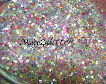 Iridescent and Holographic glitter mixes
