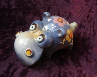 ceramic tin whistle Hippo
