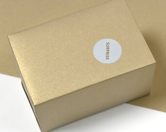 Metallic Gold Wrapping Paper,Birthday Gift Wrap,Pearly-lustre Wrapping Sheets,Holiday Gift Wrap