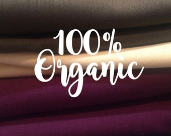 Organic Cotton Twill, Eco-Friendly Fabric, Sustainable, Apparel Fabric, Home Decor, Upholstery, Fashion, Apparel, Twill, Designer Fabric