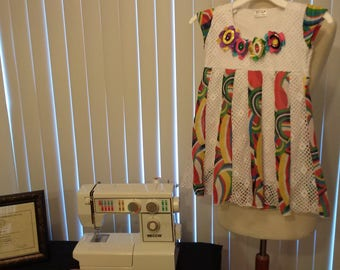 Girl Colorful Dress