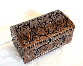 Ring box Jewelry ring box Wedding ring box Wooden box Jewelry