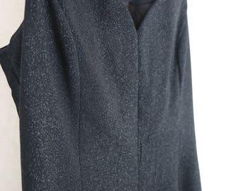 Kimsean Custom Made Black Glittery Dress