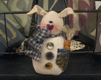 Bunny Decoration, Bunny Doll, Easter Decoration, Easter Bunny, Spring Bunny, Spring Decoration, Bunny Shelf Sitter. Whimsical Bunny, FAAP
