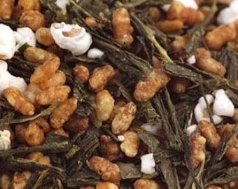 Genmaicha Green Tea - Certified Organic