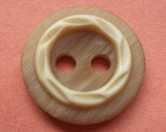 11 small brown buttons 13mm (3630) button