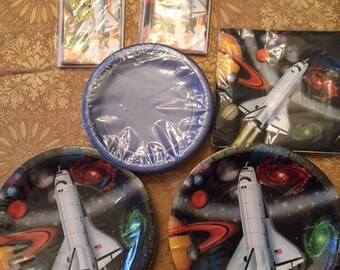 Space Theme birthday party items