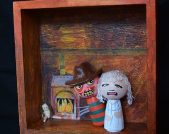 A Nightmare On Elm Street: Tina's Nightmare/Peg Doll Box