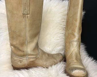 Distressed Vintage Frye Boots Style# 2511 Size 7.5 D