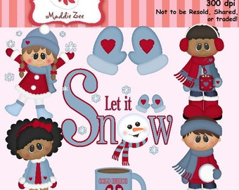 Cold Hands Warm Heart 1 Clipart (Digital Download)