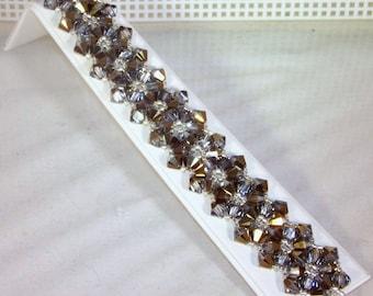 Swarovski Crystal Jewelry - Bride, Bridesmaids, Maid of Honor Bracelet - Any Color