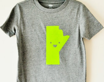Taille 5 - Tee du Manitoba Happy Kid