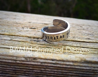 Personalised wrap wring