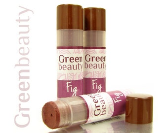 Tinted lip balm, Fig, natural lip balm, lip tint, tinted balm, sheer lip color, natural makeup, mineral makeup, moisturizing cosmetics, YLBB